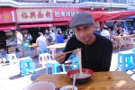 Tasting local flavours in China