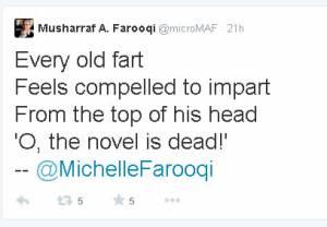 Farooqui tweet