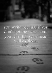 Mahesh_You-write-because-if-you