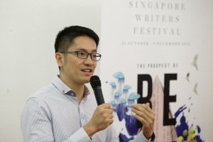Singapore Writers Festival Director, Paul Tan