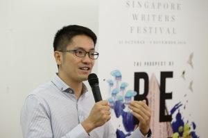 Singapore Writers Festival Director, Paul Tan