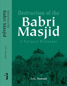 Destruction of the Babri Masjid jacket