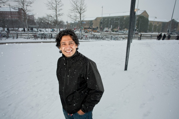 Forfatteren Tabish Khair bor i Danmark og underviser pΠAarhus Universitet