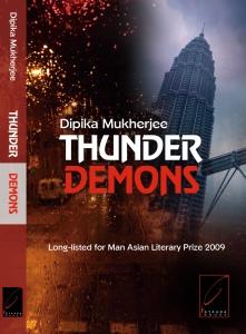 Thunder Demons Cover copy Dipika Mukherjee Kitaab Interview