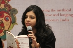Pervin Reading from Urmila at Mumbai Launch 2