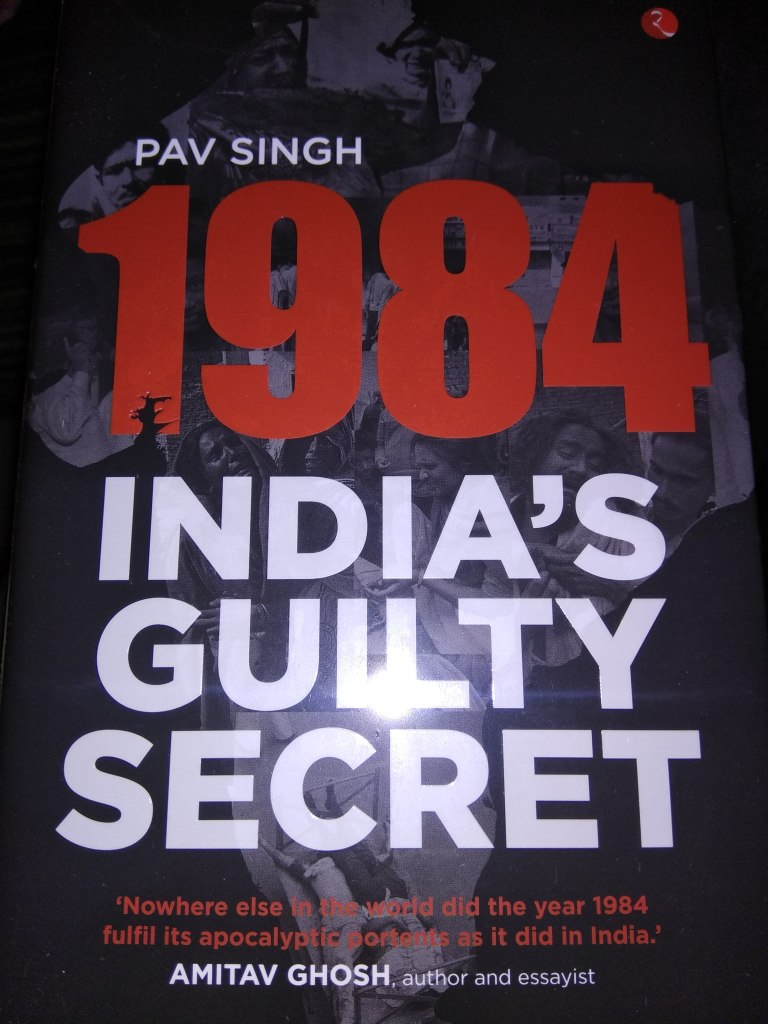 1984 India's Guilty Secret