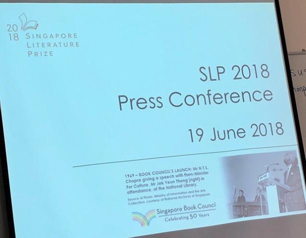 Singapore Literature Prize 2018