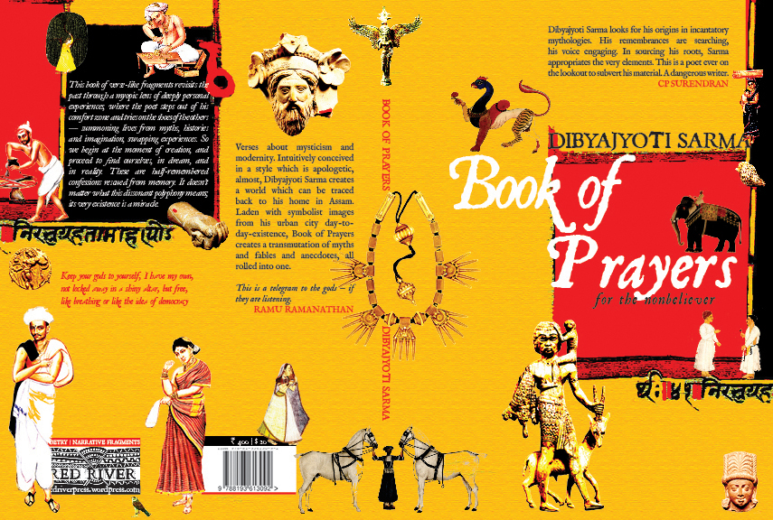 book of prayers front and back