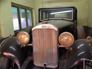 The Tagore family car