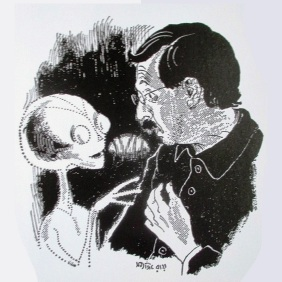 Sketch by Satyajit Ray, Bonkubabur Bondhu