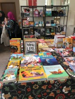Book shop set up by AFCC in NLB