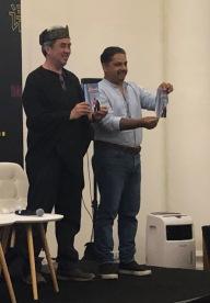 Isa Kamari and Zafar Anjum