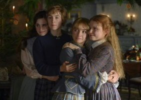 Still from 2019 production showing the four sisters
