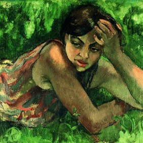 Gypsy girl -- Amrita Shergil